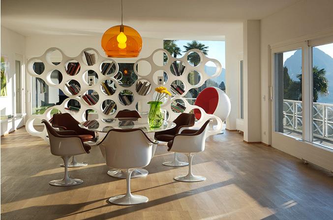 PREGASSONA – Villa moderna con piscina e giardino boschivo, spazi immensi