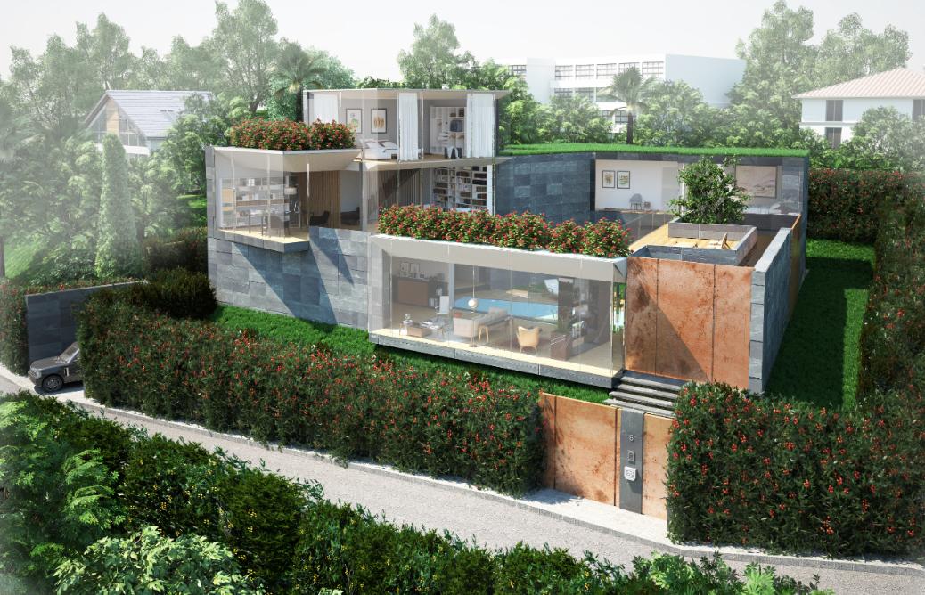 MONTAGNOLA – Progetto approvato per stupenda villa su 3 piani