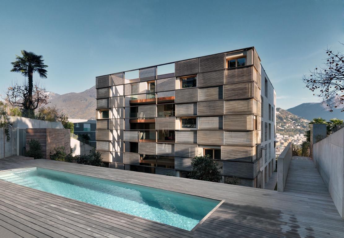 LUGANO MASSAGNO – Moderno appartamento 3.5 locali con giardino e vista lago