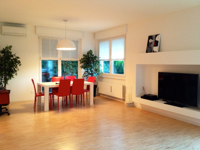 LUGANO – Big apartment in central area with garden