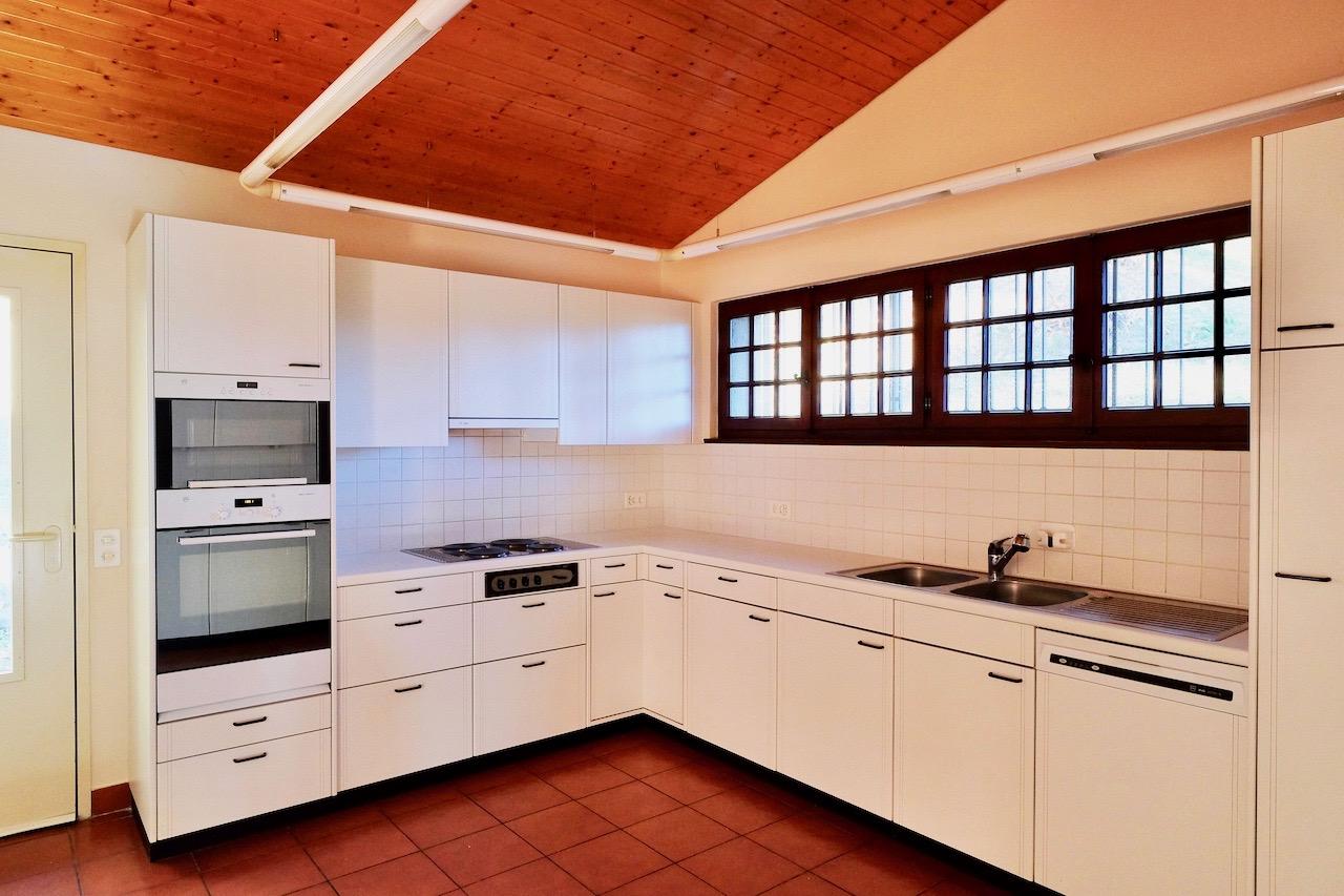 Cucina con porta su giardino living solutions - Cucina giardino ...