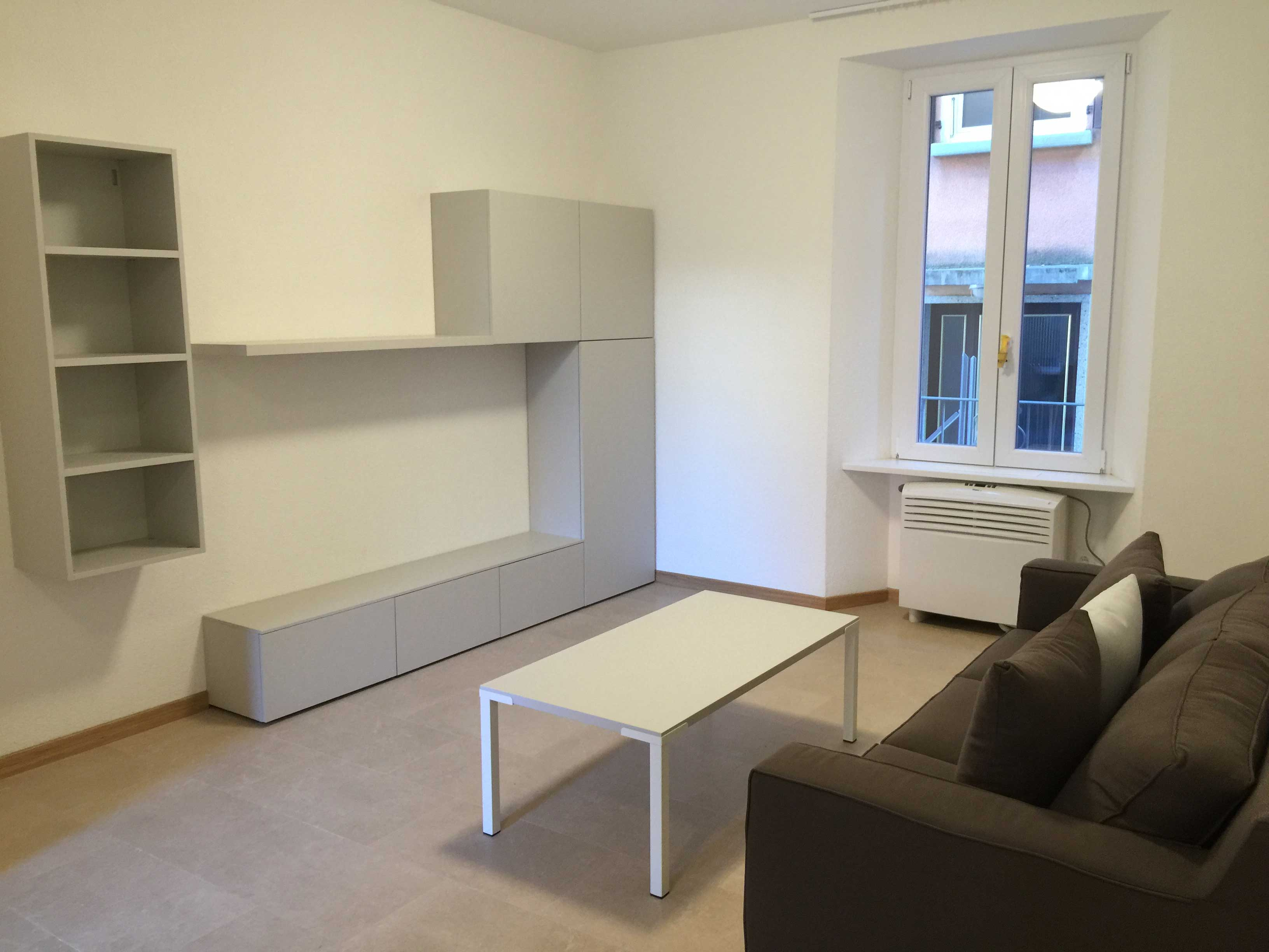 LUGANO – Wide 3.5 apartment close to the USI University
