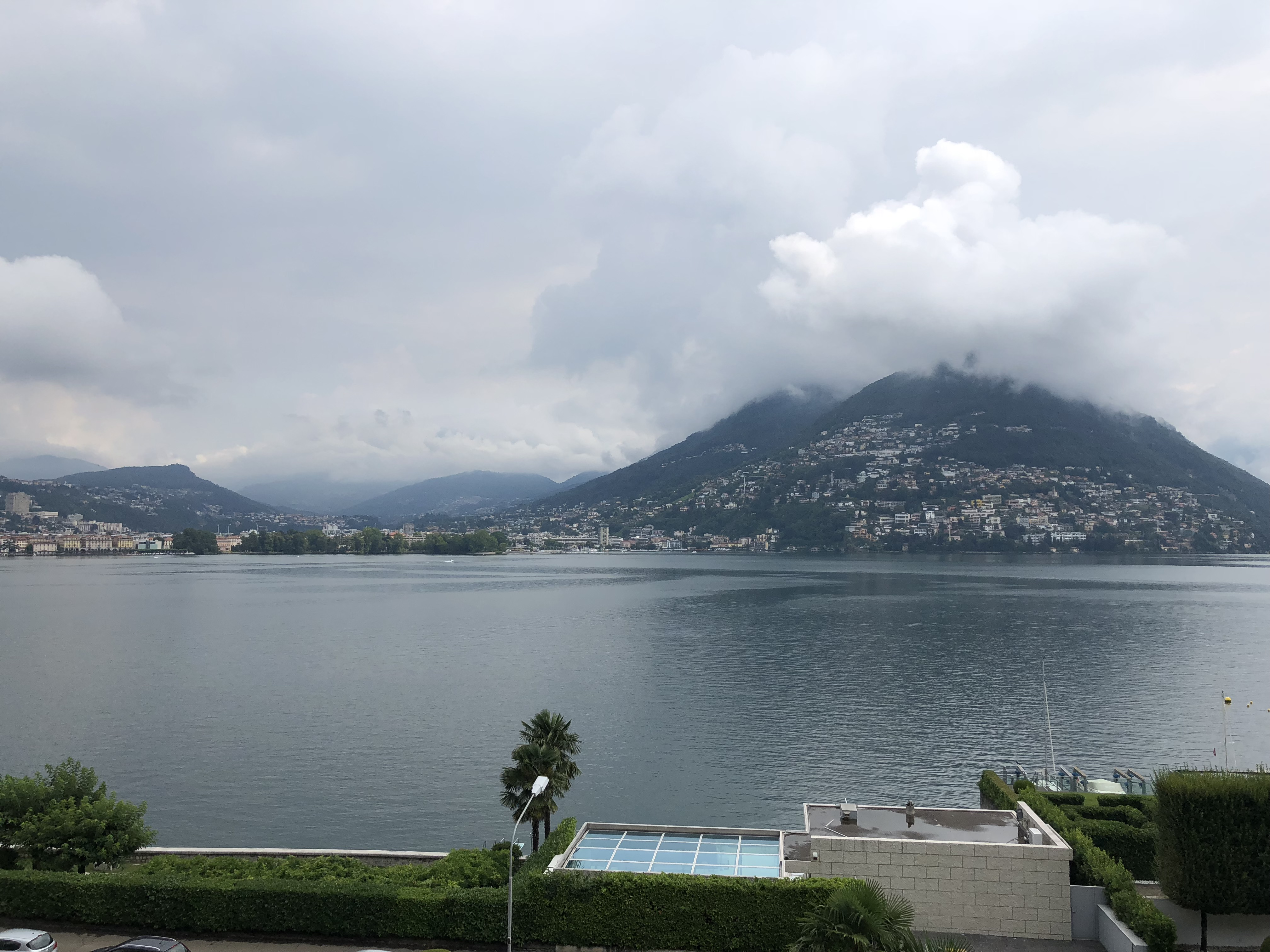 LUGANO – PARADISO -Magnificent apartment facing the lake with a wide view of the gulf
