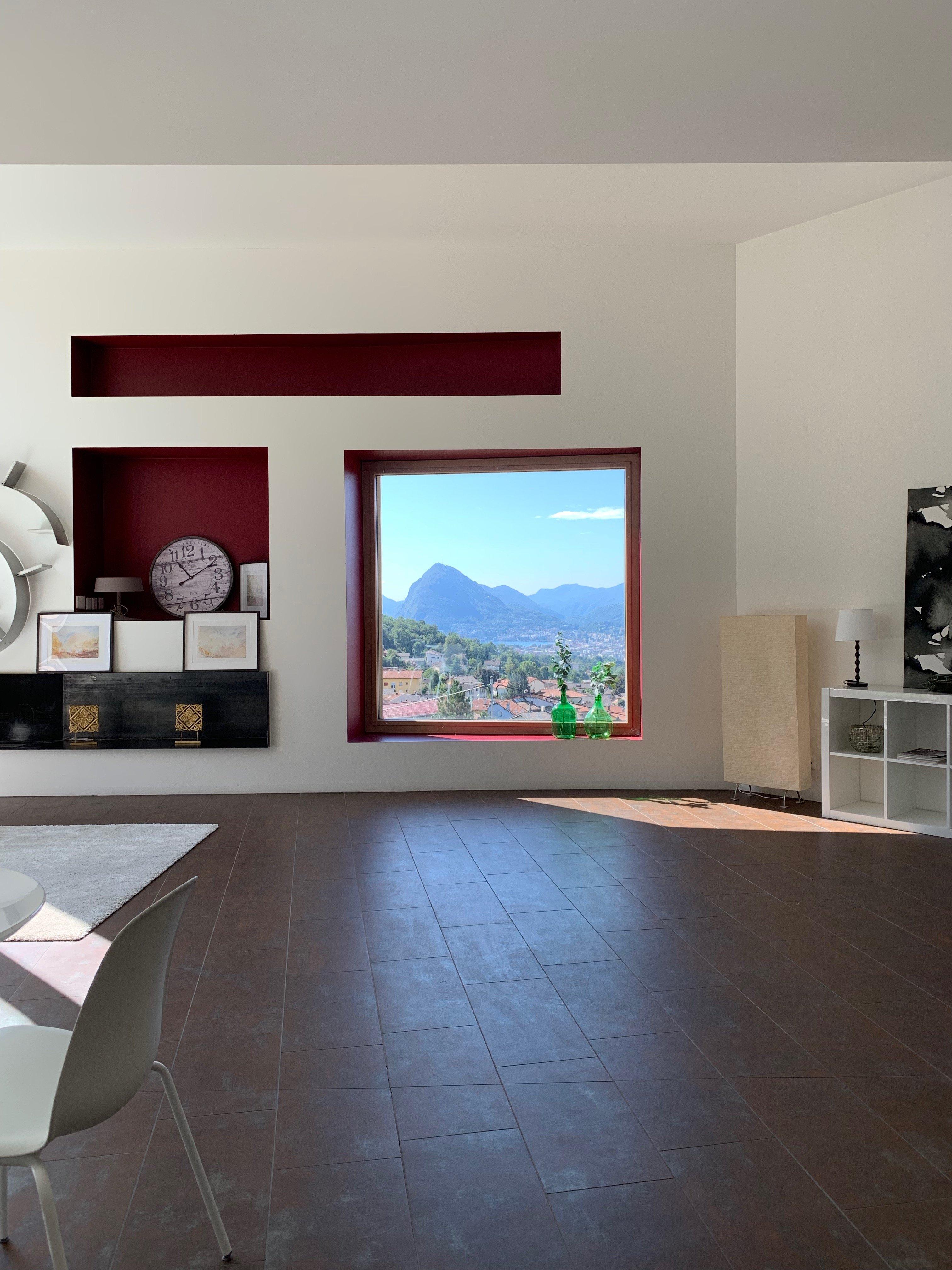 LUGANO – CADRO – Grande e luminoso appartamento 4.5 locali di moderna architettura