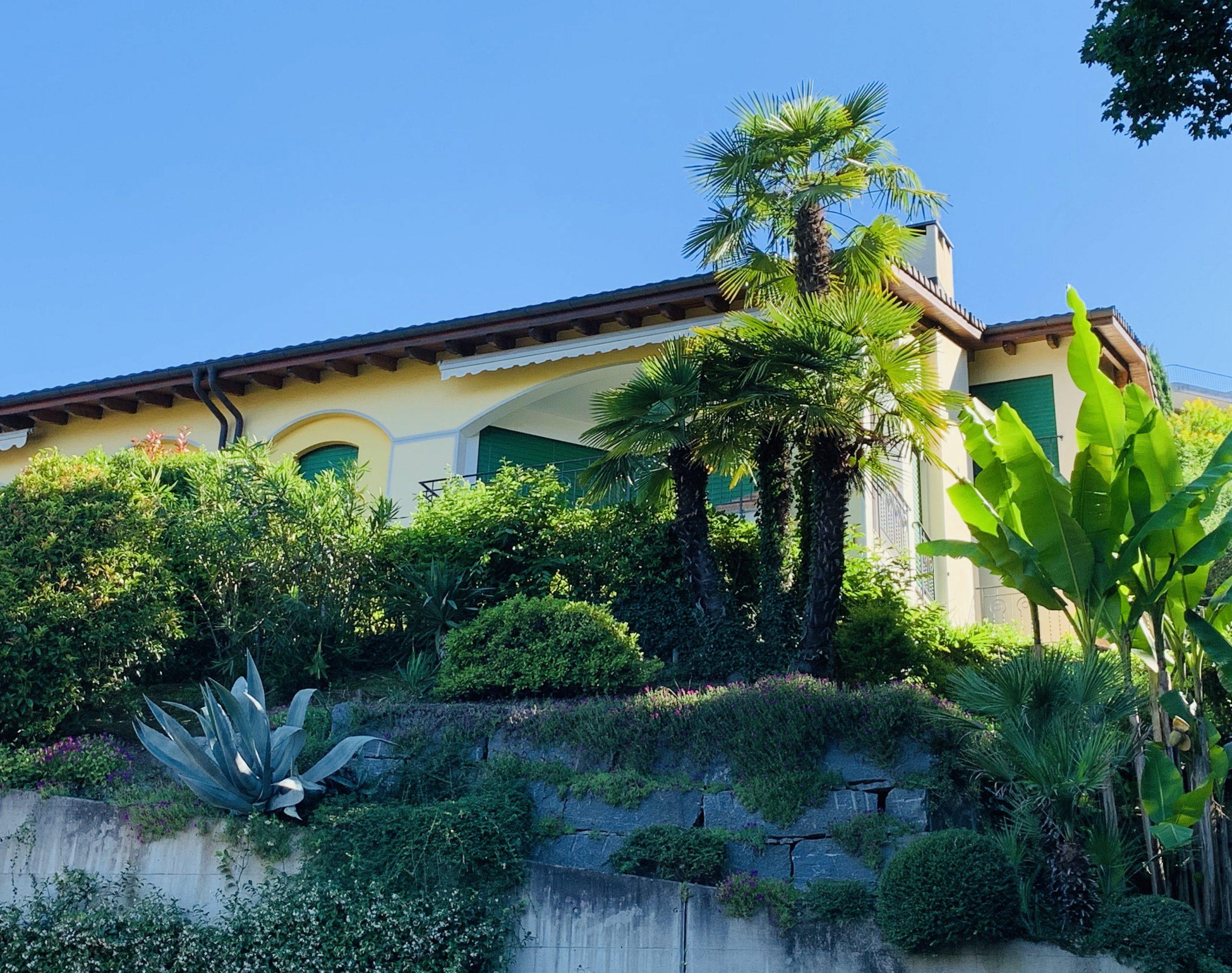 LUGANO – Bellissimo attico mansardato, in zona residenziale e tranquilla con stupenda vista sul golfo di Lugano, terrazze e piccolo giardino privato.