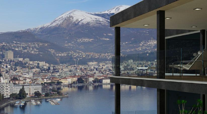 LUGANO – PARADISO – Moderni appartamenti, stupenda vista lago